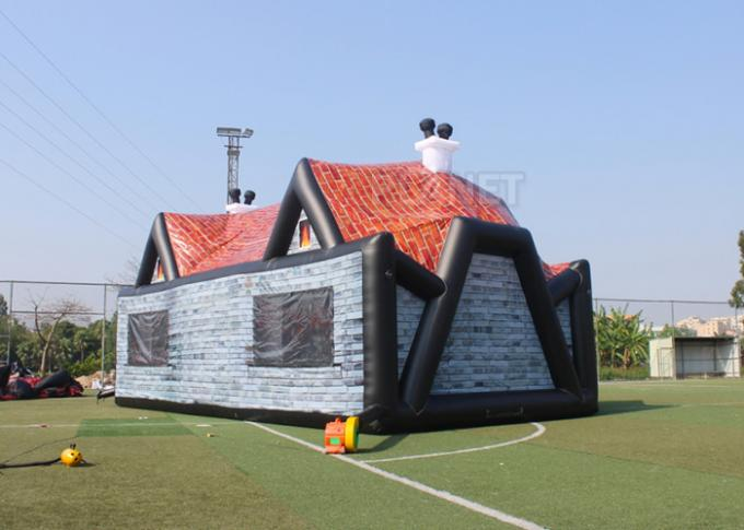 Giant Advertising Inflatable Tent , Inflatable House Tent 11 X 6 X 5.8 M