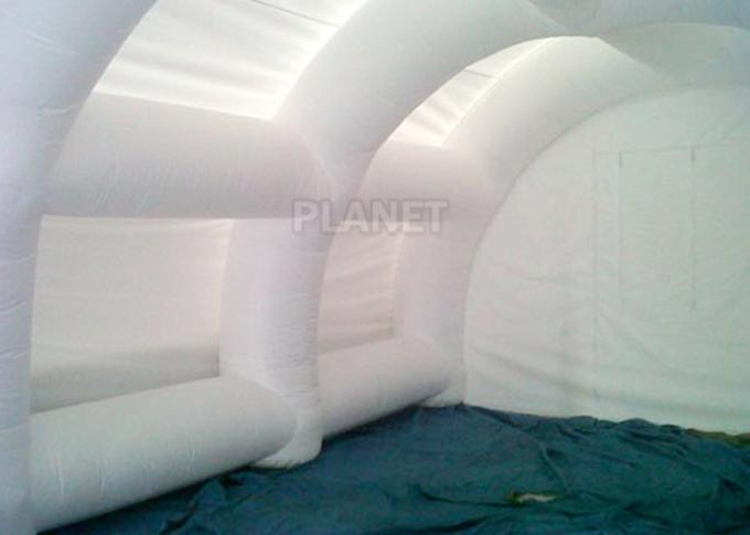 Giant White Airtight Advertising Inflatable Tent For Trade Show / Party