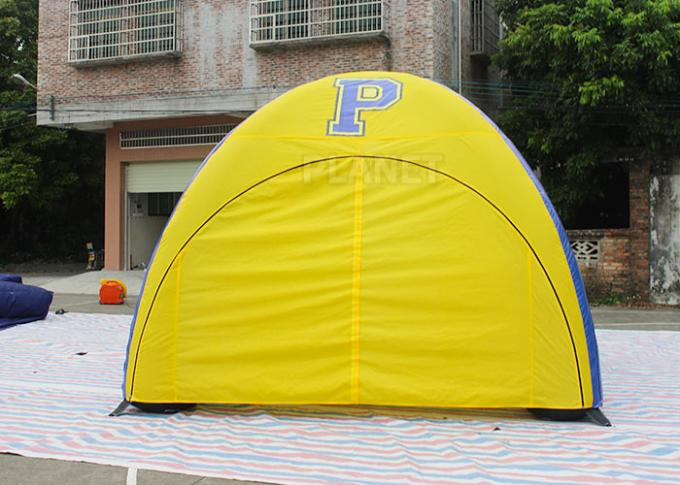Customized Inflatable Event Tent , Inflatable Display Tent With Logo Printing