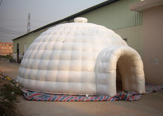 Outdoor Durable Igloo Dome Tent 7 X 7 X 4 M PVC Tarpaulin For Advertising