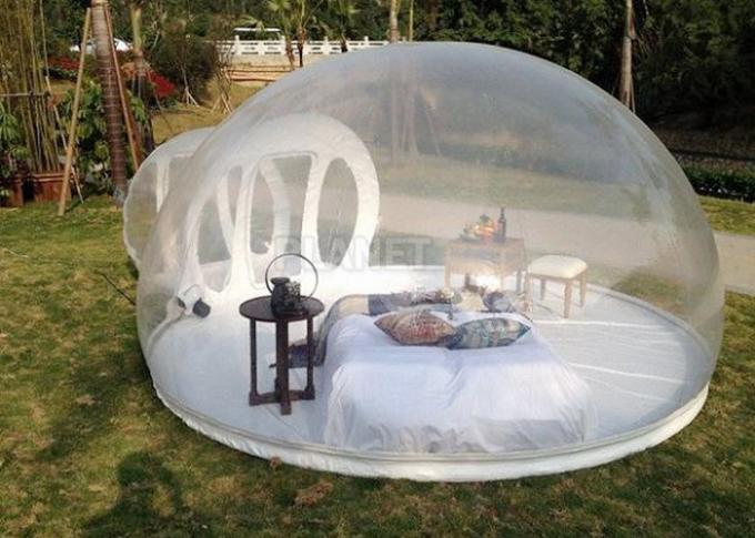 Crystal Inflatable Bubble Tent House Dome 3M / 4M / 5M Size CE Approved