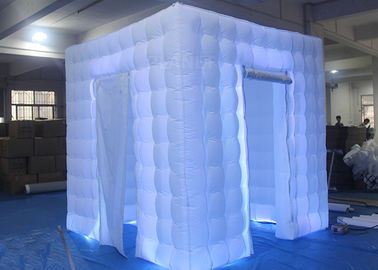 Flexible Inflatable Photo Booth -20 To 60 Degrees Working Temp With Curtain