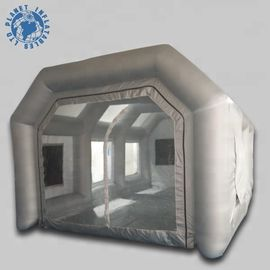 Economical Inflatable Spray Booth 10 Mm Thickness Filter Low Noise