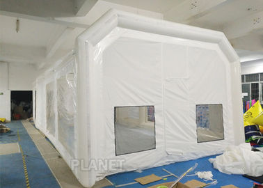 Airtight Portable Paint Booth Tent 0.6 Mm PVC Tarpaulin Easy Installation
