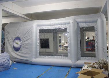 Durable Inflatable Spray Booth Reinforced Oxford Cloth Material CE / UL