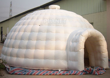 China Outdoor Durable Igloo Dome Tent 7 X 7 X 4 M PVC Tarpaulin For Advertising supplier