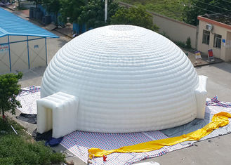 Waterproof Event Inflatable Sphere Tent With Air Pump And Repair Kits