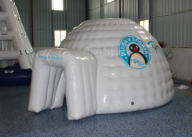Mini Inflatable Igloo Tent / Blow Up Igloo Tent Playhouse For Rental