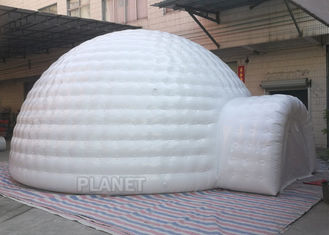 China Giant Inflatable Igloo Tent , White 3.5 M Height Inflatable Outdoor Tent supplier