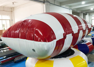 Funny Customized Inflatable Water Catapult Blob Jumping Pillow For Lake
