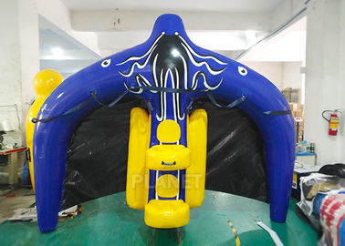 Towable Inflatable Water Ski Tube Flying Manta Ray For Water Sport Games