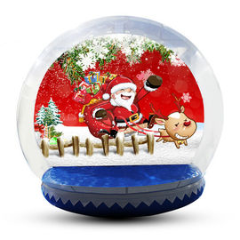 Large Inflatable Snow Globe For Outdoor Christmas Decoration EN14960