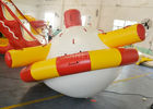 China Disco Boat Inflatable Water Games Towable Crazy UFO Shape 2 Years Warranty company