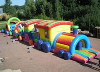 China Large Long Outdoor Obstacle Course For Kids Interactive Boot Camp company