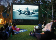 China 6 Meter Airblown Inflatable Movie Screen PVC Tarpaulin Or Oxford Cloth company