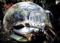 China Customized Inflatable Bubble Tent , Transparent Bubble Rooms 2 Years Warranty company