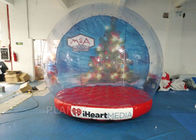 China Custom Inflatable Snow Globe Photo Booth / Blow Up Christmas Globe company